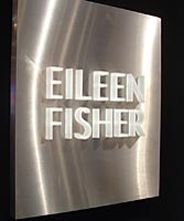 Eileen Fisher reception sign